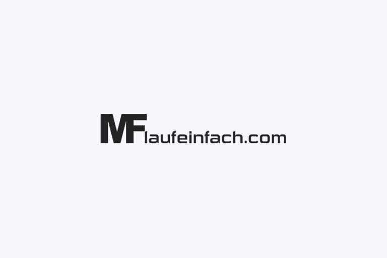 laufeinfach michael frenzer logo