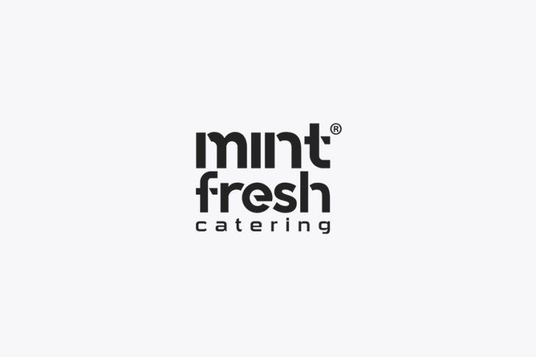 mint fresh catering logo