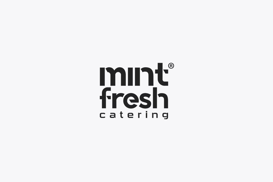 mint fresh catering logo
