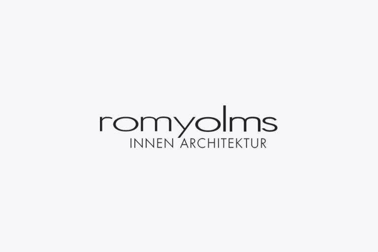 innenarchitektur romana olms logo