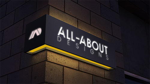 ALL-ABOUT Designs Logo