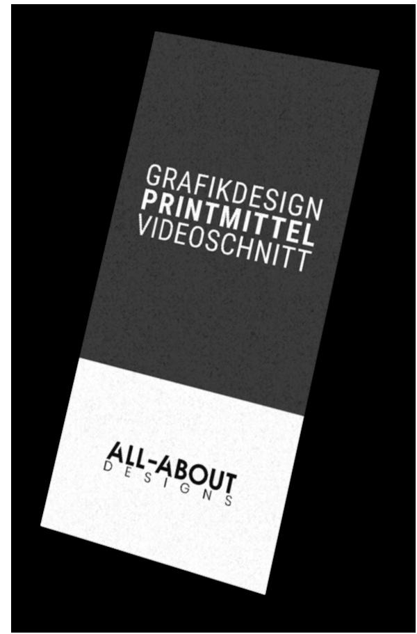Mediengestaltung, Videoschnitt und Printmittel von der ALL-ABOUT Designs