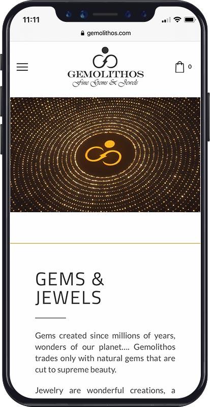 Webdesign Gemolithos